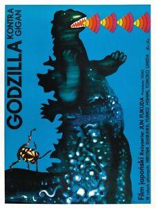 GODZILLA VS GIGAN 6 B-MOVIE REPRODUCTION ART PRINT A4 A3 A2 A1