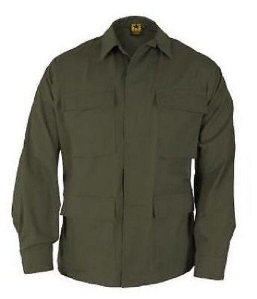 US Propper Esercito BDU Esercito Propper Outdoor Casual Giacca Cappotto Giacca Camicia Verde Oliva XXL regolare 19062e