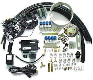 8 Cylinder Propane Lpg Conversion Kit For Gasoline Fuel