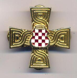 Image Is Loading BOSNIA CROATIA 1992 1995 WAR MEMORIAL CROSS CROATIAN