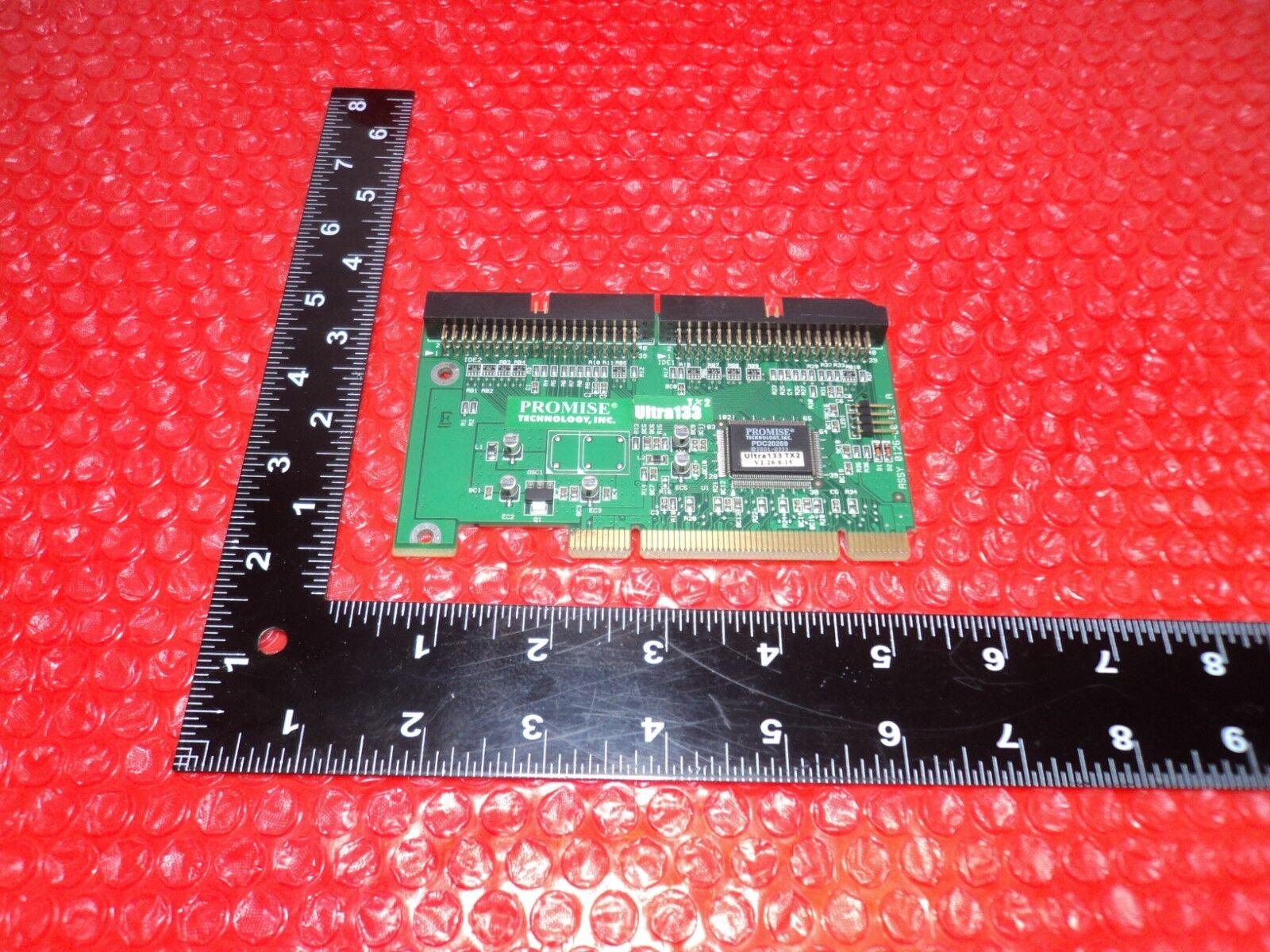 Promis Technology Ultra133 TX2 V2.20.0.15 Dual IDE PCI Card