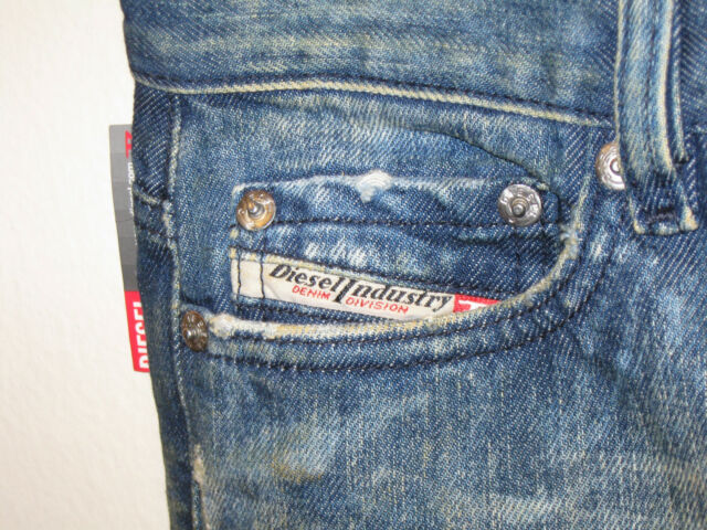 011630b4 Diesel Industry Daze Jeans Womens Denim Pants Size 25 Made in Italy W26 L32  for sale online | eBay