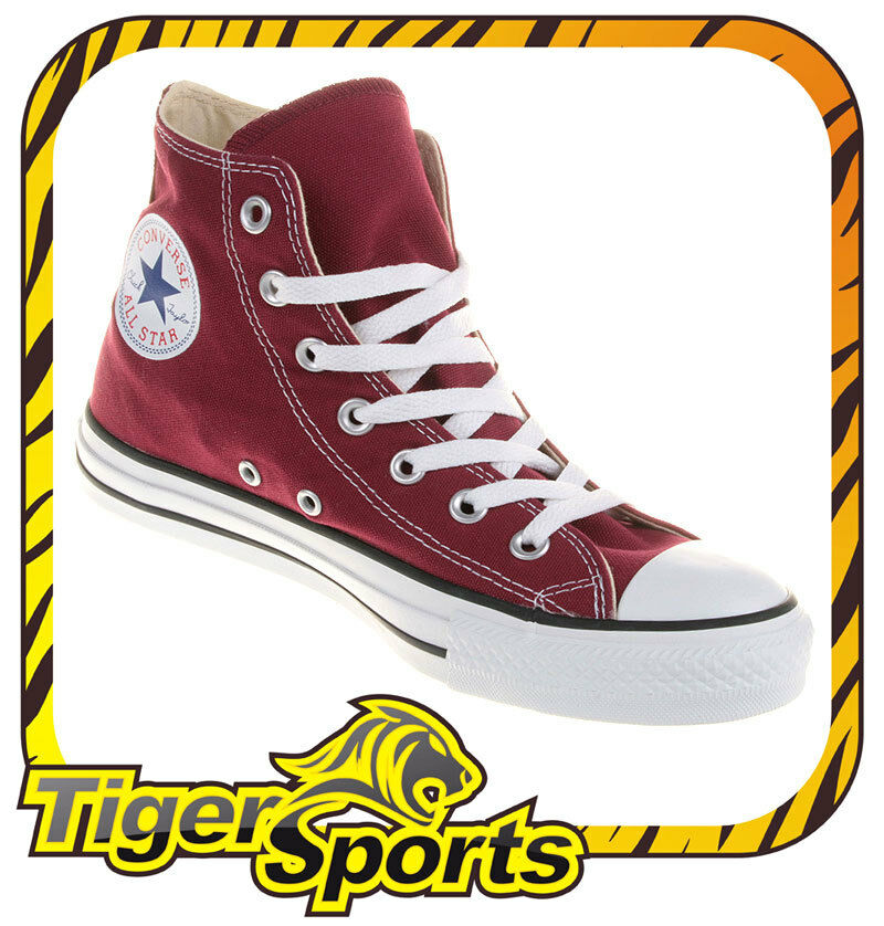 Converse - Chucks - All Star Hi Maroon Rot M9613 - Schuhe NEU - Gr.: 35 - 48
