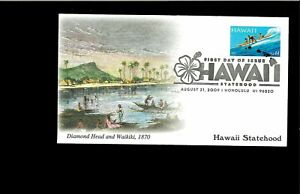 2002-First-day-Cover-Hawaii-Statehhood-Honolulu-HI