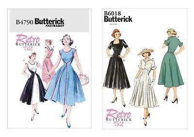 Schnittmuster Butterick B 6537 Historisches Kleid mit Spitzenapplikation