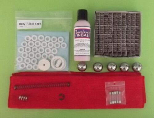 bingo super kit 1972 Bally Ticker Tape pinball