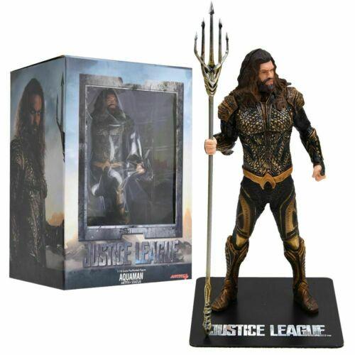 1//10 DC Justice League Aquaman Pre-Painted Artfx Statue Action Figures Toy Gift