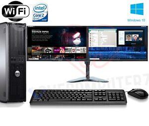 FAST-DELL-QUAD-CORE-PC-COMPUTER-DESKTOP-TOWER-WINDOWS-10-WIFI-DUAL-SCREEN-PC