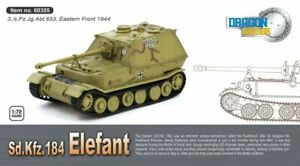 DRAGON-ARMOR-60355-Sd-kfz-184-ELEFANT-diecast-model-tank-WWII-Poland-1944-1-72nd