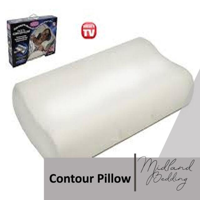 POTG Memory Foam Neck Pillow (grey) for