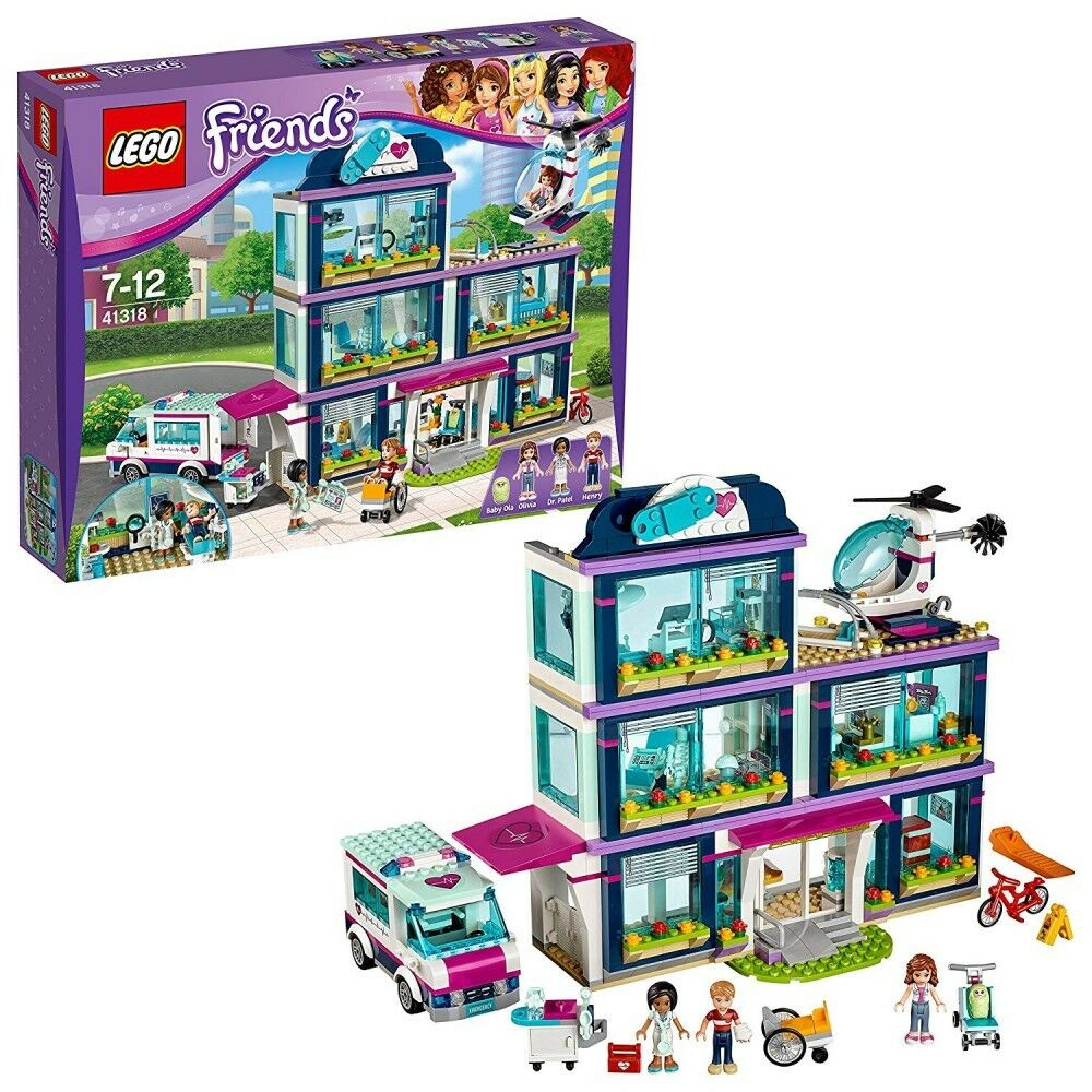 Lego Friends Friends Friends Hart Lake City Hospital 4131 871Piece From Japan Fast Shipping be3c6c