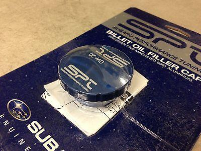 SPT Billet Aluminum 0W-20 Oil Cap - BLUE - SOA3881250  Genuine Subaru OEM