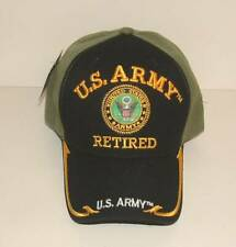 13759c77286c1 item 6 US Army Retired 3D Embroidered Licensed Military Black OD Green Ball  Cap Hat. -US Army Retired 3D Embroidered Licensed Military Black OD Green  Ball ...