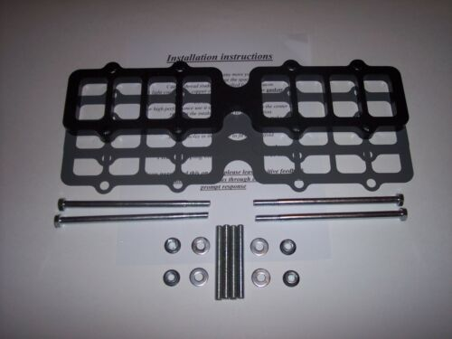 """EDELBROCK VICTOR 5.0 FORD MUSTANG .5/"""" Fuel injection intake manifold spacer"""