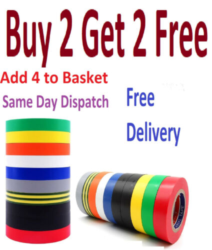 PVC Electrical Insulating Tape Flame Retardant Colored Insulation Tapes 19mm