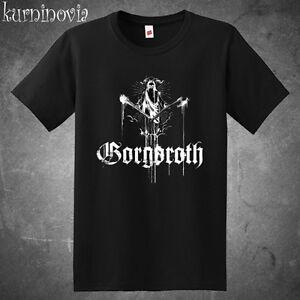 Gorgoroth Death Metal Rock Band Men s Black T-Shirt Size S to 3XL  386b35f173434