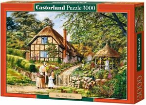 NEW! Castorland What Lovely Flowers 3000 piece country jigsaw puzzle
