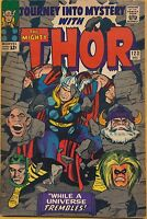 Journey into Mystery #123 Marvel Comics 1965, Thor, Classic Kirby Art