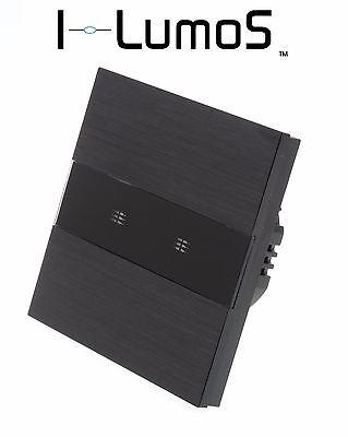 Cordiale I Lumos Pannello In Alluminio Nero Wifi/4g Touch Telecomando On/off Gli Interruttori Luce Led-mostra Il Titolo Originale Squisito Artigianato;