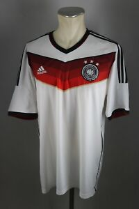 Deutschland-Trikot-2014-Gr-XL-DFB-Adidas-WM-Jersey-Home-Weltmeister-Germany