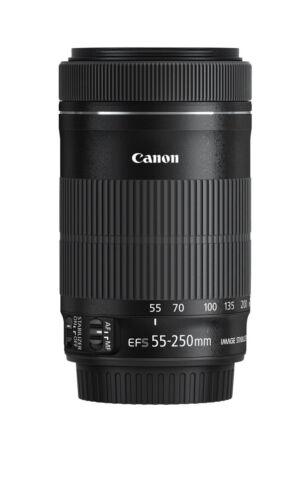 Canon EF-S 55-250 mm F//4.0-5.6 IS STM Objektiv Kompaktes Teleobjektiv