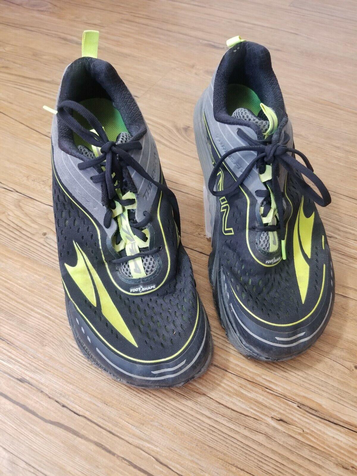 Altra Torin Taille 11 trois cinq Homme Chaussure De Course (AFW1837F-01) zéro drop * lire *