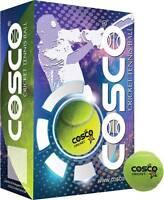 Cosco Cricket Tennis Ball Light Weight Training Ball - Pack Of 12 Balls
