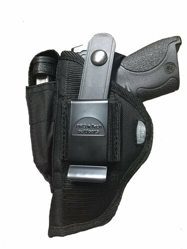 "Nylon Gun holster With Magazine Pouch fits Taurus G2C 9mm Luger 3.2/"" Barrel"