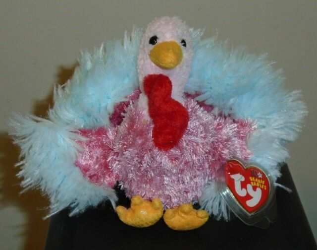 TY Beanie Baby TOM-e the Turkey Internet Exclusive 5 inch - MWMTs