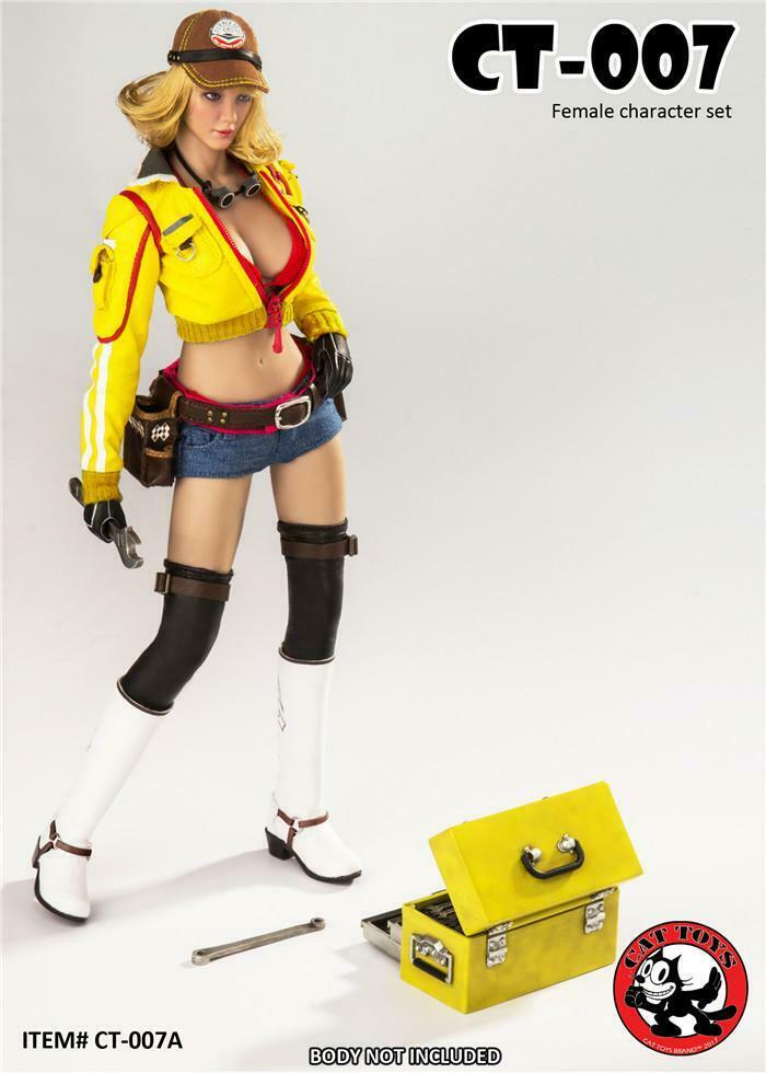 1 6 Final Fantasy XV Cindy Aurum Clothing Set  USA toys hot Cat figurine  magasin fashional à vendre