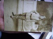 carte photo femme soldat 1eme regiment ?   ww1 14/18
