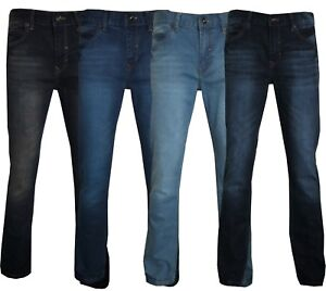 Mens-Stretch-Jeans-Straight-Leg-Denim-Supreme-Quality-Branded-Malay-32-039-039-to-42-039-039