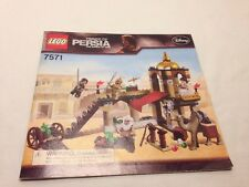 Lego 7571 Prince of Persia Fight for the Dragon Manual Only LOOK
