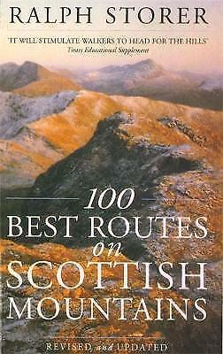 100 Best Routes on Scottish Mountains-ExLibrary