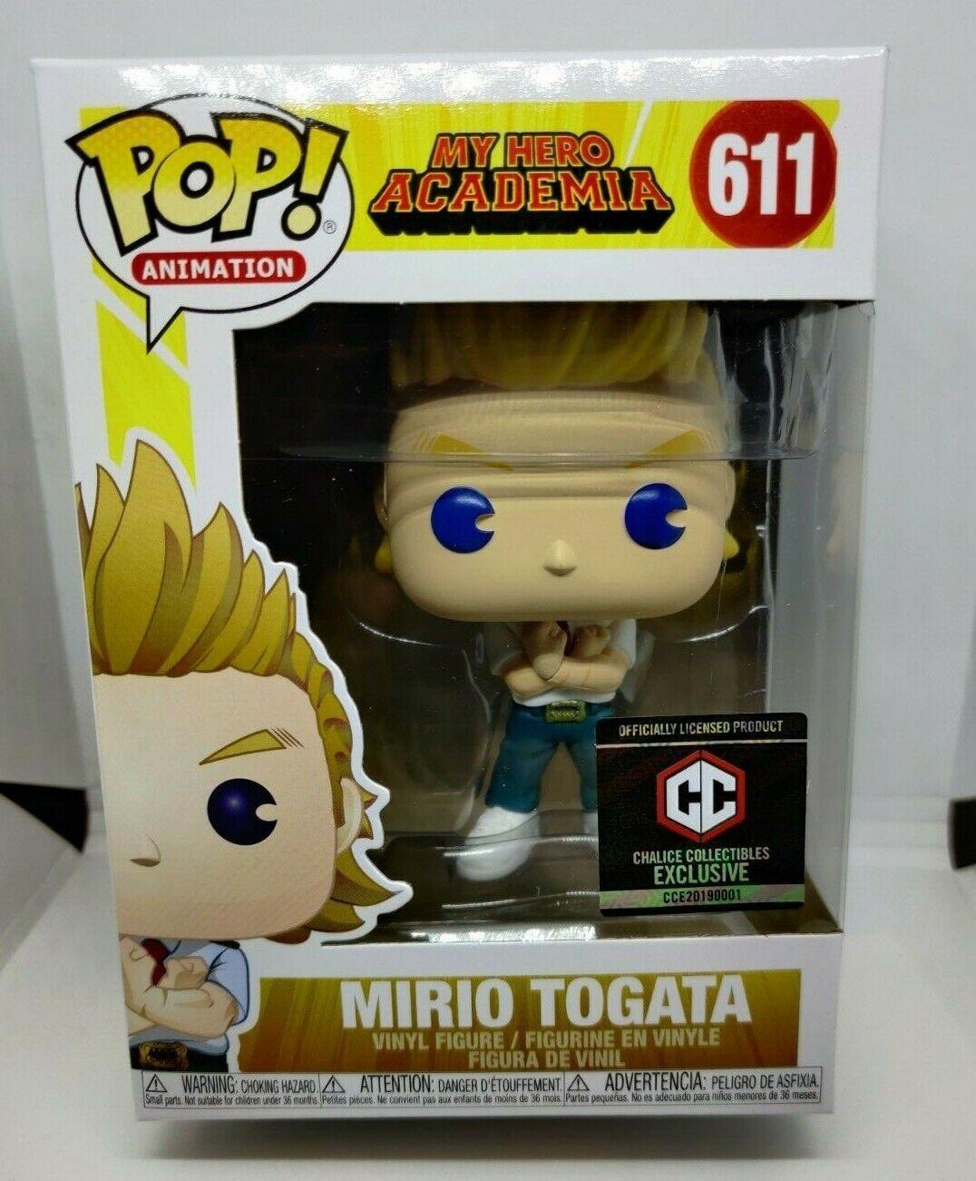 Funko POP  611 Mario Togata My Hero Academia Chalice Collectibles Exclusive