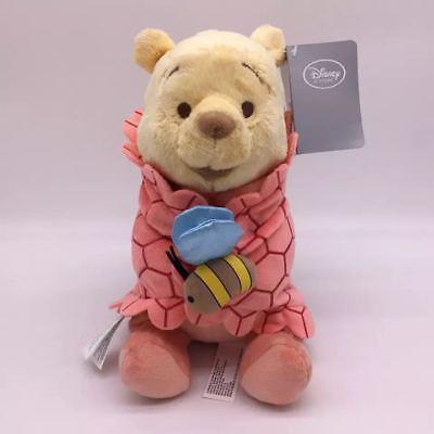Disney Babies Winnie The Pooh Baby In A Blanket Plush Doll