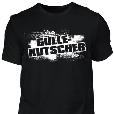 2019 Neuer Stil Gülle-kutscher - T-shirt Landwirt Traktor Bauer Lustig Geschenk Spruch Trecker