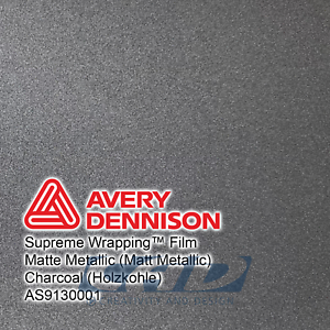 1 m Avery Supreme Car Wrapping Film Folie silber matt metallic 39,95 € // m