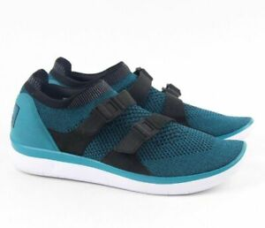 premium selection 51be3 cc8e4 Image is loading NIKE-AIR-SOCK-RACER-ULTRA-FLYKNIT-BLUSTERY-BLUE-