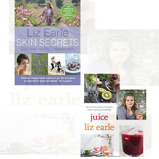 Liz Earle Skin Secrets & healthy Collection 2 Books Set healthy Pack NEW