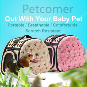 Portable-Pet-Cat-Dog-Outdoor-Travel-Cage-Foldable-Basket-Carrier-EVA-Tote-Bag