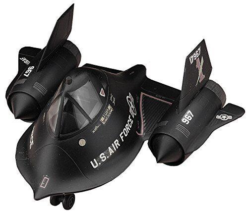Hasegawa Egg Plane US Air Force SR-71 Blackbird non-scale plastic model TH18