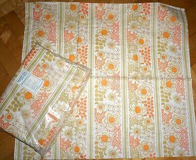 Ehrlich Ddr Bettwäsche Veb Planet Blumen 2 Bettbezüge 4 Kissen Unbenutzt Von 1975