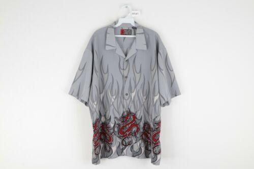 Vtg 90s Streetwear Mens XL Short Sleeve Anime Drag