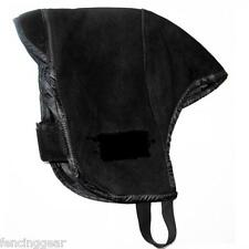 Coach padded leather suade Fencing Mask Sabre protector ONE size fits all