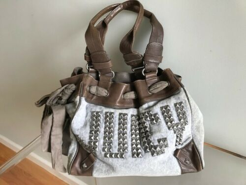 Juicy Couture Velour Studded Tote Bag