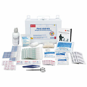 First Aid Only First Aid Kit for 25 People 106-Pieces OSHA Compliant Metal Case