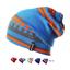 Unisex-Girls-Boys-Cute-Colorful-Striped-Skating-Winter-Warm-Hats-Beanie-Ski-Caps thumbnail 1