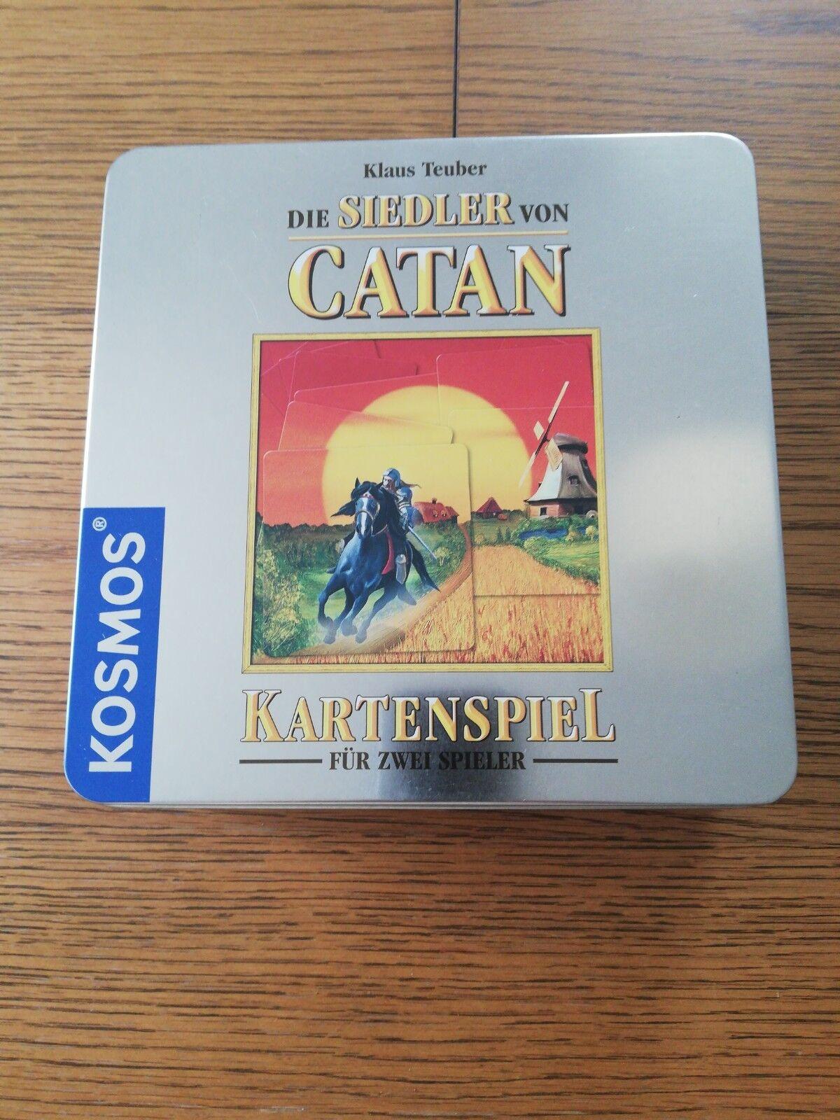 Les Colons de Catane-Jeu de cartes pour deux joueurs-Blechbox-Cosmos-partie neuf neuf neuf dans sa boîte - 41b5ea