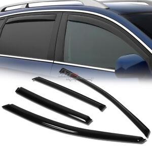 4pcs Window Visors Rain Sun Wind Guard Vent Shade Deflector For 12-16 Honda CRV